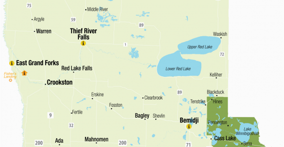 Minnesota tourism Map northwest Minnesota Explore Minnesota