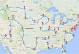 Minnesota tourism Map This Map Shows the Ultimate U S Road Trip Mental Floss