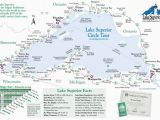 Minnesota Wisconsin Border Map Simple Map Of Lake Superior Lake Superior Magazine