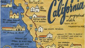 Mission Maps Of California Earlier This Year I Visited All 21 California Missions and Created