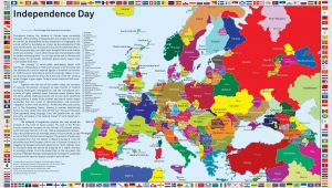Modern Day Europe Map Independence Day What Europe Would Look if Separatist