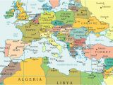 Modern Day Map Of Europe 36 Intelligible Blank Map Of Europe and Mediterranean