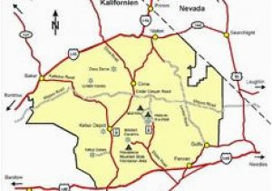 Mojave Desert California Map Best California State By Area And