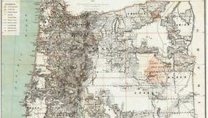 Molalla oregon Map 1879 oregon Map or Hillsboro Madras north Bend Molalla Jefferson