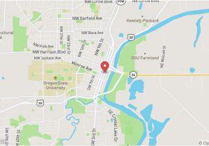 Monroe Oregon Map Monroe oregon Map Map north Bend oregon Gallery Of oregon Maps
