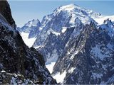Mont Blanc France Map Mont Blanc Highest Mountain In Western Europe