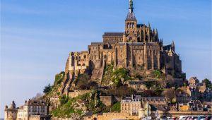 Mont St Michel France Map Mont Saint Michel tourism Guide
