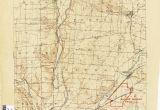 Montgomery County Ohio Map Ohio Historical topographic Maps Perry Castaa Eda Map Collection