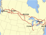 Montreal On A Map Of Canada Canadian Pacific Railway Wikipedia