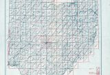 Morrow County Ohio Map Ohio Historical topographic Maps Perry Castaa Eda Map Collection