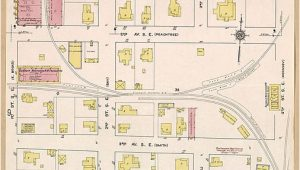 Moultrie Georgia Map File Sanborn Fire Insurance Map From Moultrie Colquitt County