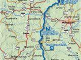 Mount Airy north Carolina Map Map Of the Blue Ridge Parkway Virginia north Carolina State Line