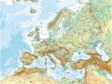 Mountain Map Of Europe 36 Intelligible Blank Map Of Europe and Mediterranean