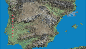 Mountain Ranges In Spain Map Geography the Spanish Biker
