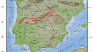 Mountains Of Spain Map Sistema Central Wikipedia