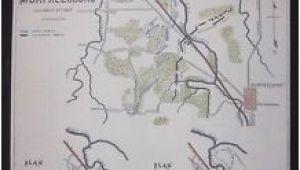 Murfreesboro Tennessee Map Murfreesboro Tennessee Civil War Battlefield Color 1862 Map Troop