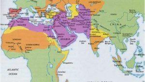 Muslim Spain Map islamic World In 1500 Maps Historical Maps islam Map