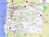 Myrtle Creek oregon Map Gold In oregon Map Secretmuseum
