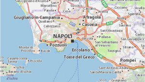 Naples Airport Italy Map Map Of Naples Michelin Naples Map Viamichelin