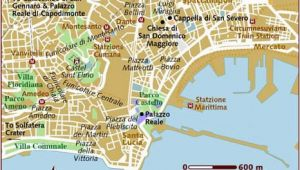 Naples Italy City Map Map Of Naples