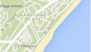 Narbonne France Map Narbonne Plage Google Maps Frankreich Beach Places