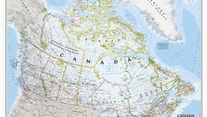 National Geographic Map Of Canada Craenen National Geographic Flat Maps