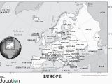 National Geographic Map Of Europe Europe Human Geography National Geographic society