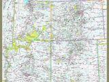 National Geographic Maps Colorado Four Corners atlas Wall Map Maps Com