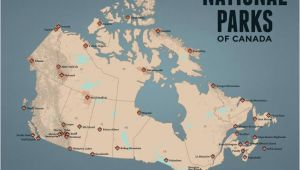 National Parks In Canada Map National Parks Best Maps Ever