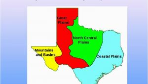 Natural Regions Of Texas Map Texas is A Vast State Made Up Of Many Different Natural Elements and