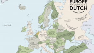 Netherlands On A Map Of Europe Europe According to the Dutch Europe Map Europe Dutch