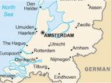 Netherlands On Map Of Europe Amsterdam Church Spirit Dharma Sutra Netherlands Map