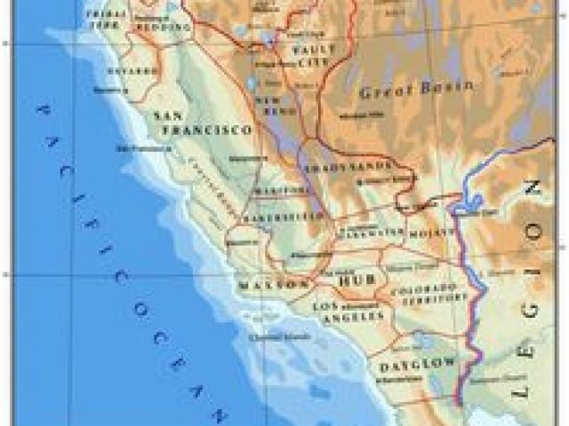 New California Republic Map 386 Best Postapocalyptia Images In 2019