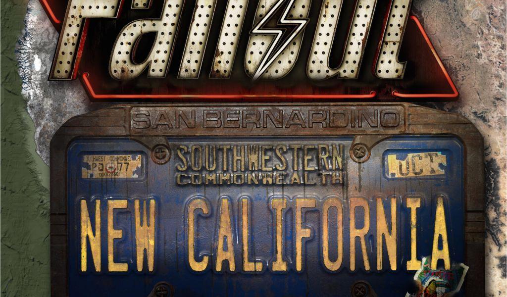 New California Republic Map Fallout New California Mod Mod