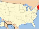 New England America Map List Of Mammals Of New England Wikipedia