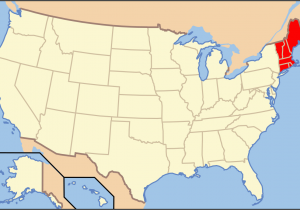 New England Canada Map List Of Mammals Of New England Wikipedia