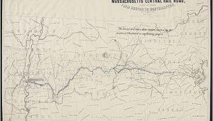 New England Central Railroad Map Central Massachusetts Railroad Wikipedia