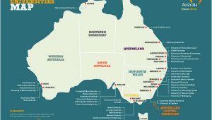 New England Colleges Map List Of Australian Universities top Rank Universities In