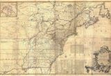 New England Colony Map 1757 Colonial Map Map Of British Colonies north America