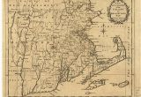 New England Colony Map A New and Accurate Map Of the Colony Of Massachusets I E