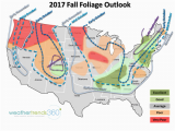 New England Fall Colors Map Fall Foliage 2017 Outlook Blog Weathertrends360