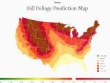 New England Fall Colors Map Here are the Best Times and Places to View Gorgeous Fall