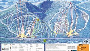 New England Ski Mountain Map 2009 10 attitash Trail Map New England Ski Map Database