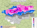 New England Snow Depth Map the Heavy Snow Of 29 30 January 2010