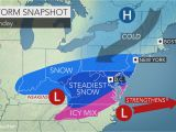 New England Snow Depth Map Weekend Storm to Unleash Snow Ice From north Carolina to Virginia