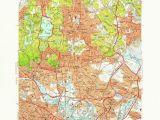 New England topographic Map Amazon Com Yellowmaps Boston north Ma topo Map 1 24000