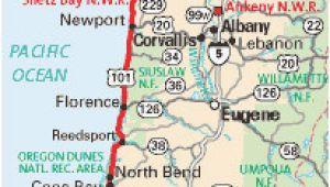 Newport Beach oregon Map Map Of Newport oregon 33 Map oregon Coast Geographic Map Of Us