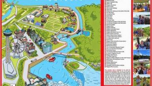 Niagara Falls Canada attractions Map Niagara Map Niagara Falls In 2019 Visiting Niagara Falls