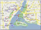 Niagara Falls Canada Hotels Map Map Of Niagara Falls Canada Hotels and attractions Maps