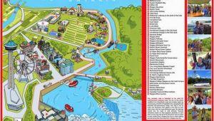 Niagra Falls Canada Map Niagara Map Niagara Falls In 2019 Visiting Niagara Falls